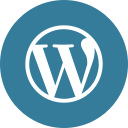 media, social, wordpress icon