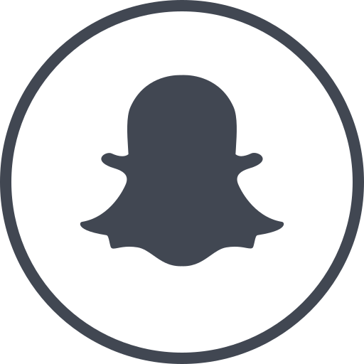 media, online, snapchat, social icon