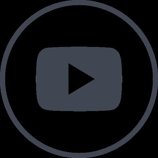 media, online, play, social, youtube icon