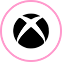 media, social, web, xbox icon
