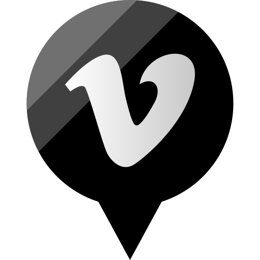media, social, vimeo icon