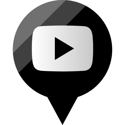 media, play, social, youtube icon