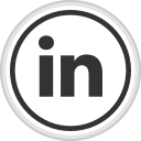 linkedin, logo, media, online, social icon