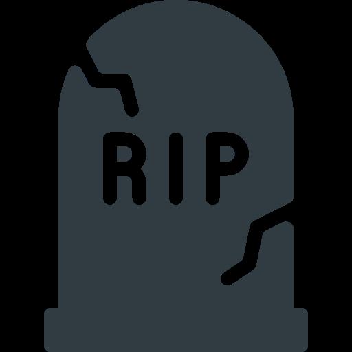 cemetery, halloween icon