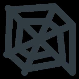 cobweb, halloween icon