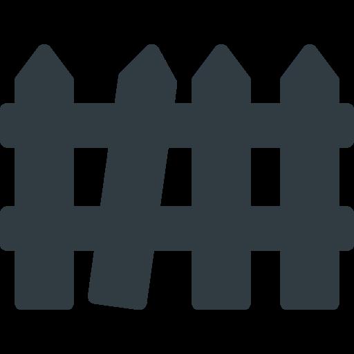 fence, halloween icon