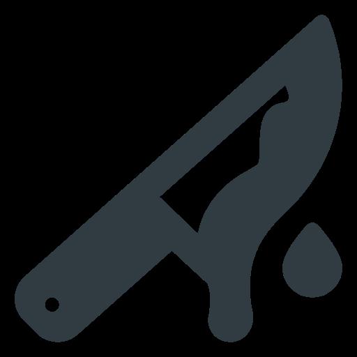 halloween, knife icon