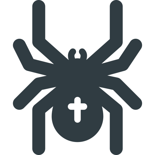 halloween, spider icon