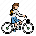 bike, bicycle, exercise, cycling, riding