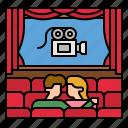 cinema, entertainment, popcorn, snack, movie