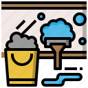 brush, brushes, clean, miscellaneous, tools, wash icon