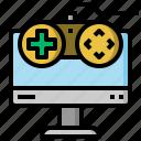 computer, controller, game, joystick, multimedia, video icon
