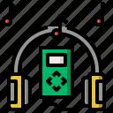 audio, communications, electronics, multimedia, music, sound icon