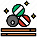 billiard, entertainment, objects, pool, snooker, sports, stick icon