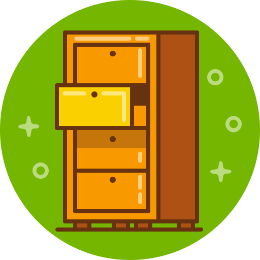 archive, chest, drawer, furniture, keep, save, stock icon