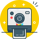 camera, instagram, photo, polaroid, selfie, shoot icon