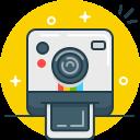 shoot, instagram, photo, selfie, polaroid, camera icon