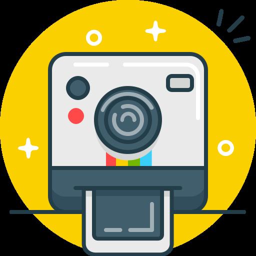 camera, instagram, photo, polaroid, selfie, shoot icon