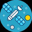 transmission, gps, satellite, astronomy, space icon