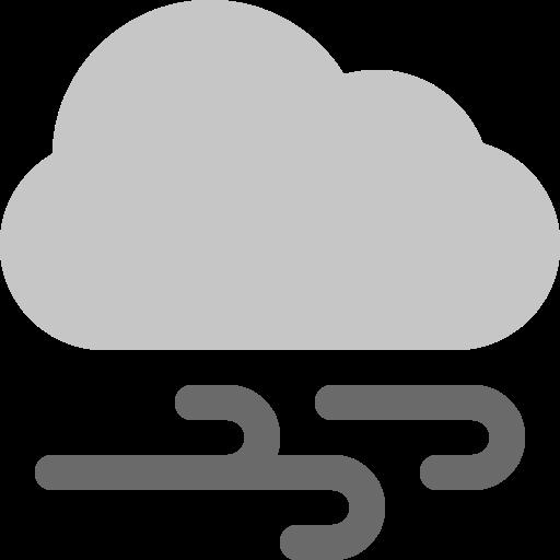 Cloud, wind icon