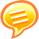 chat, speech, talk icon