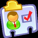 contact, vcard icon