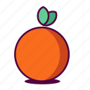 fruit, health, healthy, icon, juice, orange, yummy icon