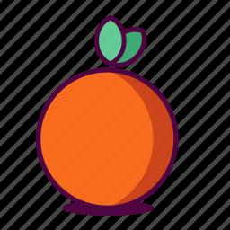 fruit, health, healthy, icon, juice, orange, yummy icon