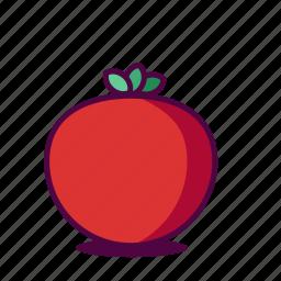 fresh, fruit, icon, juice, tomato, tomatoe icon