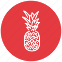 ananas, food, fresh, fruit icon