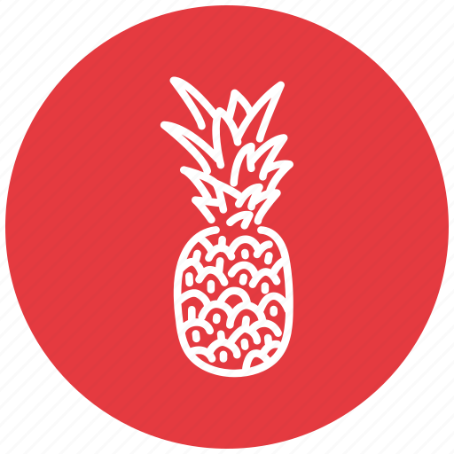 ananas, food, fresh, fruit icon