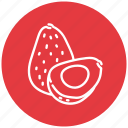 avocado, food, fresh, fruit icon