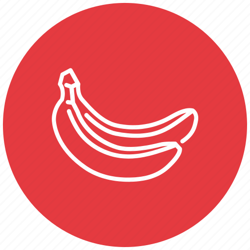 banana, bananas, food, fresh, fruit icon