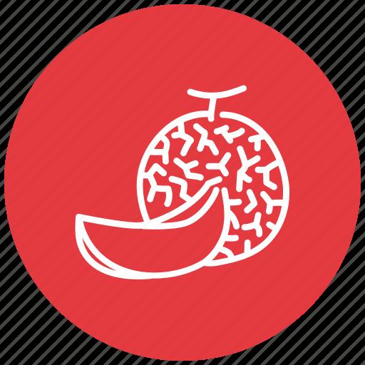 food, fresh, fruit, melon icon