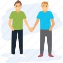 friends forever, friends goal, friendship, guy friends, holding hands icon