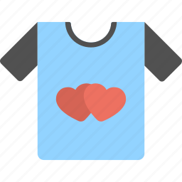 fashion and love, love inspirations, tee-shirt, together forever, two hearts icon