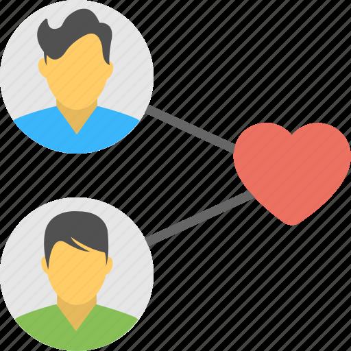 Best friends, friendship, internet, network, online friends icon - Download on Iconfinder