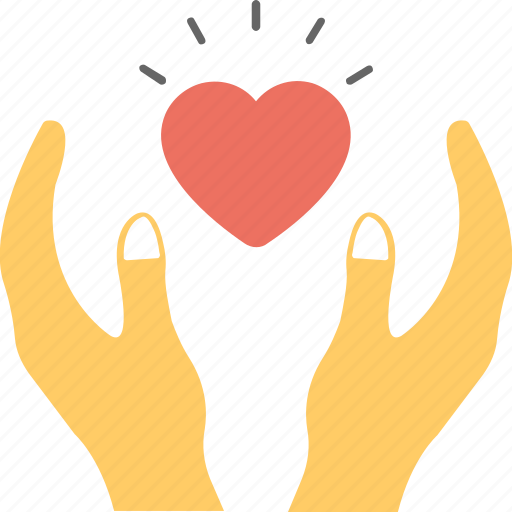 blood donation, care, love, save life concept, valentine day icon