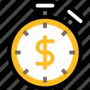productivity, business, management, fast, money, stopwatch, fast cash