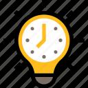 productivity, business, management, time, idea, creativity, bulb