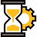 productivity, business, management, time, configuration, setting, hourglass