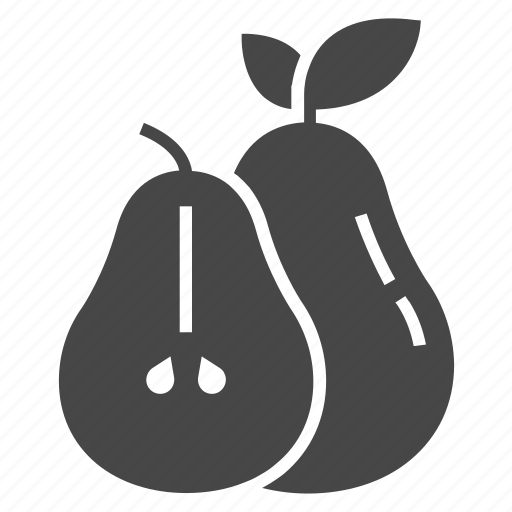 fruit, natural, pear icon