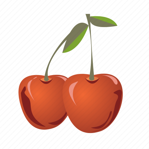 cherry, food, fruit, healthy, meal, sweet icon