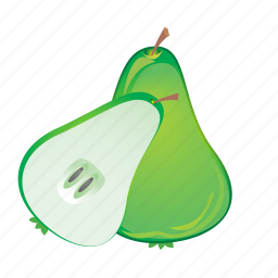 food, fruit, healthy, meal, pear, sweet icon