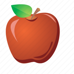 apple, food, fruit, healthy, red, sweet icon
