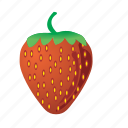 food, fruit, healthy, meal, strawberry, sweet icon