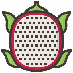 diet, dragonfruit, fruits, health, tropical icon
