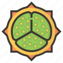 diet, fig, fruits, health, tropical icon