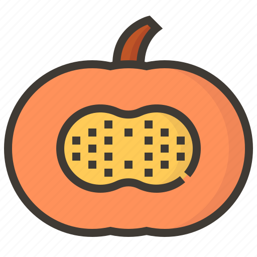 diet, fruits, health, pumpkin, tropical icon