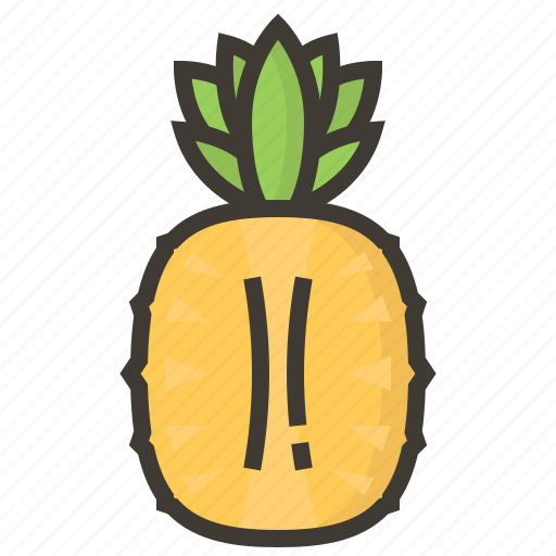 diet, fruits, health, pineapple, tropical icon